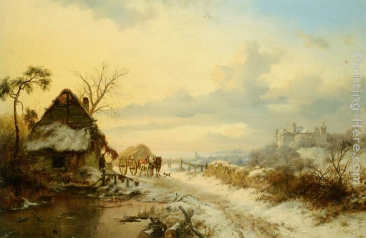 Frederik Marianus Kruseman Returning Home