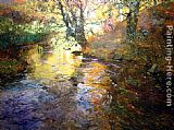 Fritz Thaulow At Quimperle painting