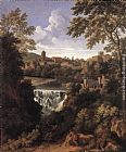 Gaspard Dughet The Falls of Tivoli painting