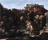 Gaspard Dughet View of Tivoli painting