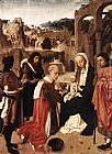 Geertgen tot Sint Jans Adoration of the Kings painting