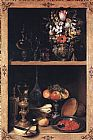 Georg Flegel Cupboard painting