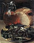 Georg Flegel Still-life with Fish painting