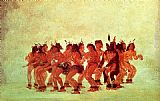 dancing bears Paintings - Bear Dance