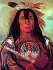 George Catlin Buffalo Bull's Back Fat, Head Chief, Blood Tribe painting