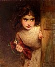 George Elgar Hicks Home From School painting
