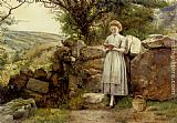 George Goodwin Kilburne A Peaceful Read painting
