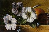 George Jacobus Johannes Van A Still Life with Flowers and Fruit painting