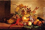 George Lance An Exotic Still Life painting