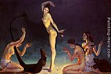 George Owen Wynne Apperley A Dancer of Ancient Egypt painting