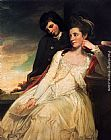 George Romney Jane Maxwell, Duchess Of Gordon And Her Son The Marquis Of Huntly painting