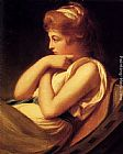 George Romney Serena In Contemplation painting