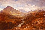 George Vicat Cole A Welsh Landscape painting