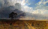 George Vicat Cole The Coming Storm painting
