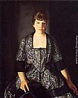 George Wesley Bellows Emma in the Black Print painting