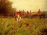 George Wright The Hunt painting