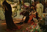 Georges Antoine Rochegrosse The Death of Messalina painting