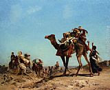 Georges Washington A Caravane painting