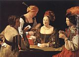 Georges de La Tour Cheater with the Ace of Diamonds painting
