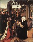 Gerard David Adoration of the Magi painting