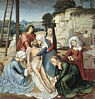 Gerard David Deposition painting