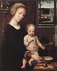 Gerard David Madonna and Child with the Milk Soup painting