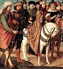 Gerard David Pilate's Dispute with the High Priest painting