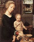 Gerard David The Madonna of the Milk Soup painting