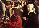 Gerard David The Marriage at Cana - detail painting