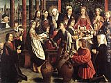 Gerard David The Marriage at Cana painting