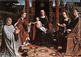 Gerard David The Mystic Marriage of St Catherine painting