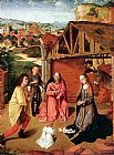 Gerard David The Nativity painting
