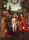 Gerard David Triptych of Jean Des Trompes (central) painting