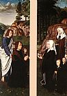 Gerard David Triptych of Jean Des Trompes (side panels) painting