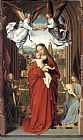 Gerard David Virgin and Child with Four Angels painting