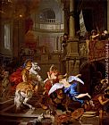 Gerard De Lairesse The Expulsion Of Heliodorus From The Temple painting
