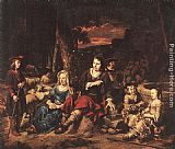 Gerbrand van den Eeckhout Portrait of a Family painting