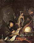 Gerrit Dou Painter in his Studio painting