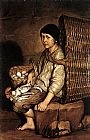 Giacomo Ceruti Boy with a Basket painting