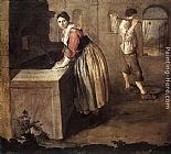 Giacomo Ceruti The Laundress painting
