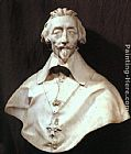 Gian Lorenzo Bernini Bust of Cardinal Armand de Richelieu painting
