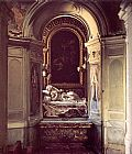 Gian Lorenzo Bernini The Blessed Lodovica Albertoni painting