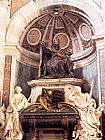 Gian Lorenzo Bernini Tomb of Pope Urban VIII painting
