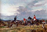 Gilbert Scott Wright Out Hunting painting