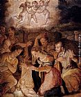 Giorgio Vasari The Nativity With The Adoration Of The Shepherds painting