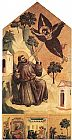 Giotto Stigmatization of St Francis painting