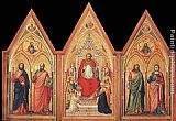 Giotto The Stefaneschi Triptych - verso painting
