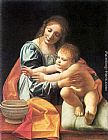 Giovanni Antonio Boltraffio The Virgin and Child painting