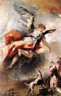 Giovanni Antonio Guardi The Angel Appears to Tobias painting