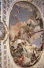 Giovanni Battista Tiepolo The Apotheosis of the Spanish Monarchy painting